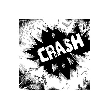 CRASH – S/T - LP