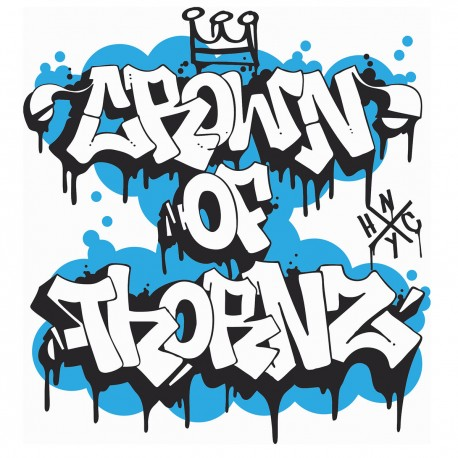 """CROWN OF THORNZ - Nothing But Tragedy - 7"""""""
