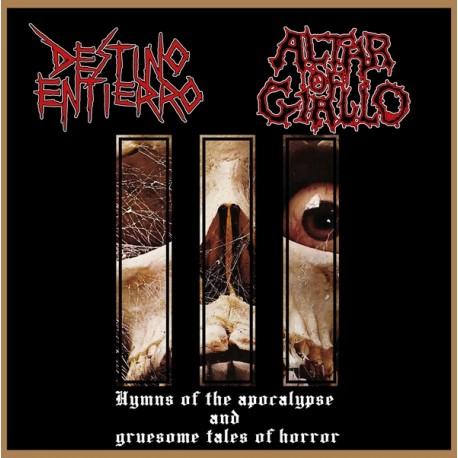 DESTINO ENTIERRO / ALTAR OF GIALLO Split CD