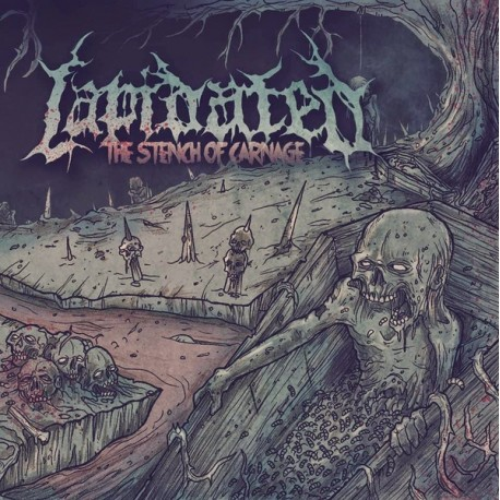 LAPIDATED – The Stench of Carnage - CD