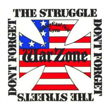 WARZONE - Don't Forget The Struggle Don't Forget The Streets -  LP